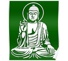 Young Buddha No.1 (white) Poster
