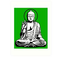 Young Buddha No.1 (2 colors) Art Print