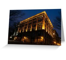 Montreal Blue Hour Greeting Card