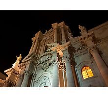 Cathedral of Syracuse (Duomo di Siracusa) in Sicily, Italy Photographic Print