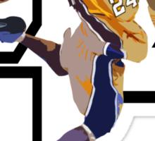 """""""Dunk It Like Kobe"""" Sticker"""