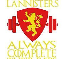 Lannister Workout by jamiesonmurphy
