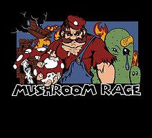 Mushroom Rage by Cory Tibbits