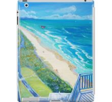 From Surfers Paradise the Gold Coast Queensland from High Surf iPad Case/Skin