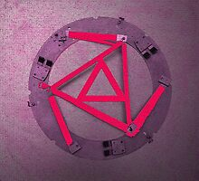 Red Triangles by Gary Conner
