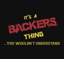 It's A BACKERS thing, you wouldn't understand !! by itsmine