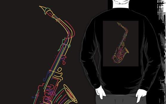 Saxophone by Richard Laschon
