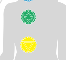 Seven Chakras & The Divine Feminine Sticker