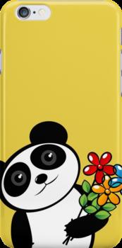 Panda lover by Richard Laschon