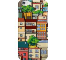Favela seamless pattern iPhone Case/Skin