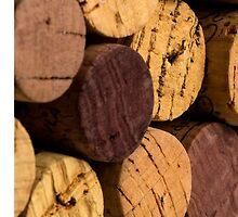 Wine bottle cork ends by DavidMay