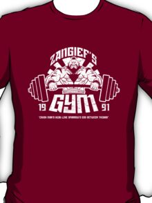 Zangief's Gym  T-Shirt
