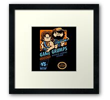 Game Grumps NES Cover Framed Print