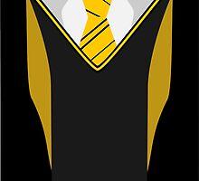Hufflepuff Harry Potter Uniform by Superbubble