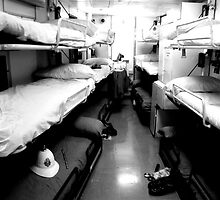 Bunks, Royal Yacht Britannia by Robert Steadman