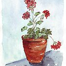 Geranium in summer by Maree  Clarkson