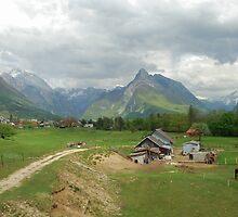 Old farmhouse near Bovec - Slovenia by Arie Koene