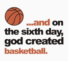 Sixth Day - Basketball Kids Clothes