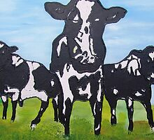 Cows by AnsDuin