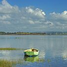 High Tide At Sunderland Point by Jamie  Green