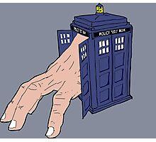 Hermit TARDIS Photographic Print