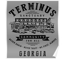 Terminus Sanctuary Community (dark) Poster