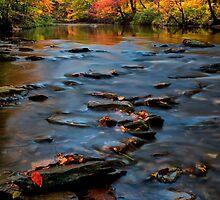 Autumn Octoraro Creek by KellyHeaton