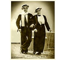 Me & my Buddy -1925 Photographic Print