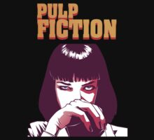 Pulp Fiction - Mia wallace by michele visconti