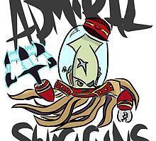 Admiral Swiggins by Cakezilla