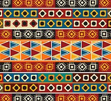 Strips motifs pattern by Richard Laschon