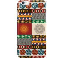 Seamless mayan, aztec pattern iPhone Case/Skin