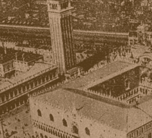 Vintage view of Venice,Italy Sticker