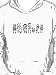 Horror villain sketches T-Shirt