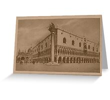 Doges' Palace,Venice,Italy Greeting Card