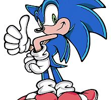 A Thumbs Up from Sonic by BelovedxCisque