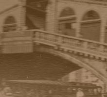 Rialto Bridge Vintage Sticker