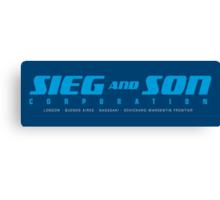 SIEG AND SON CORPORATION Canvas Print