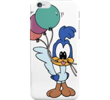 Baby Roadrunner with Ballons iPhone Case/Skin