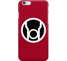 Red Lantern Corp iPhone Case/Skin