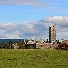 Quin Abbey in Rural Ireland by Eileen McVey