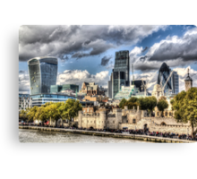 London View Canvas Print