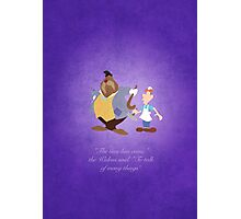 Alice in Wonderland inspired design (The Walrus & the Carpenter). Photographic Print