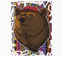 Bear Hipster by Dimhell