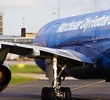 EtihadA330 (MCFC Livery) at Manchester Airport by PlaneMad1997