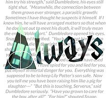 Harry Potter Always  by coxa8c