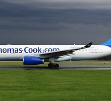 Thomas Cook A330 at Manchester Airport by PlaneMad1997