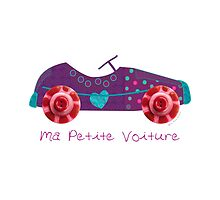 Ma petite voiture by lespetitsbutton