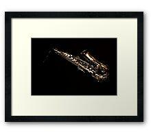 Sax Framed Print