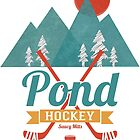 Retro Pond Hockey by SaucyMitts